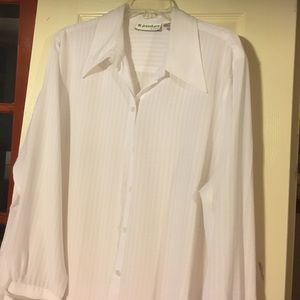 Nice White Blouse (with French cuffs)